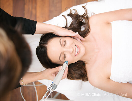 hydrafacial treatment at MIRA Clinic Perth
